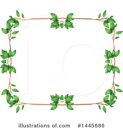 Leaves Clipart #1445686 by Graphics RF