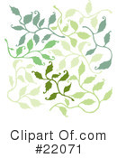 Leaves Clipart #22071 by Steve Klinkel