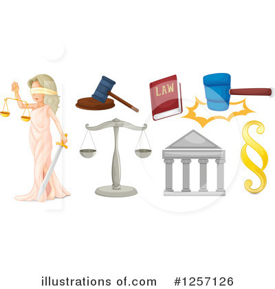 Lady Justice Clipart #1257126 by Graphics RF