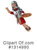 Legionary Soldier Clipart #1314990 by Julos