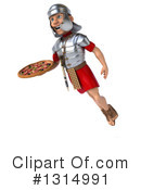 Legionary Soldier Clipart #1314991 by Julos
