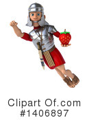 Legionary Soldier Clipart #1406897 by Julos