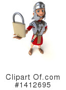 Legionary Soldier Clipart #1412695 by Julos
