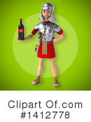 Legionary Soldier Clipart #1412778 by Julos
