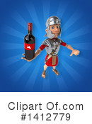 Legionary Soldier Clipart #1412779 by Julos