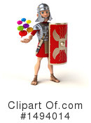 Legionary Soldier Clipart #1494014 by Julos
