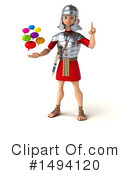 Legionary Soldier Clipart #1494120 by Julos