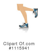 Royalty-Free (RF) Legs Clipart Illustration #1115941