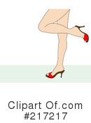 Royalty-Free (RF) Legs Clipart Illustration #217217