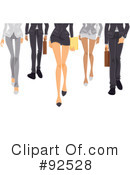 Royalty-Free (RF) Legs Clipart Illustration #92528