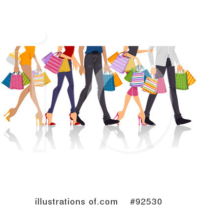 Shopping Bags Clipart #92530 by BNP Design Studio