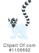 Royalty-Free (RF) Lemur Clipart Illustration #1106692
