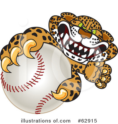 Royalty-Free (RF) Leopard Character Clipart Illustration by Toons4Biz - Stock Sample #62915