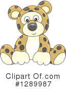 Leopard Clipart #1289987 by Alex Bannykh