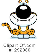 Leopard Clipart #1292080 by Cory Thoman