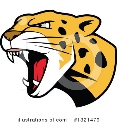Jaguar Clipart #1321479 by Vector Tradition SM