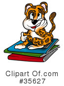 Royalty-Free (RF) Leopard Clipart Illustration #35627