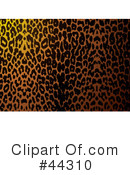 Royalty-Free (RF) Leopard Clipart Illustration #44310