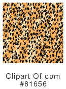 Royalty-Free (RF) Leopard Print Clipart Illustration #81656