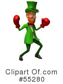Leprechaun Character Clipart #55280 by Julos
