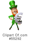 Royalty-Free (RF) leprechaun character Clipart Illustration #55292