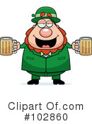 Leprechaun Clipart #102860 by Cory Thoman