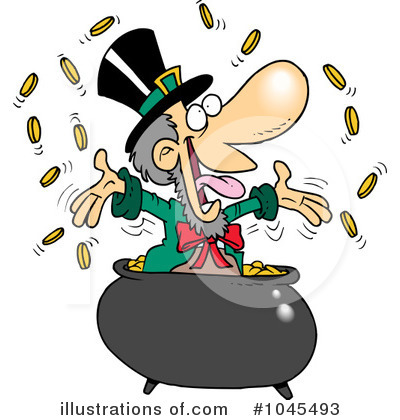 Leprechaun Clipart #1045493 by toonaday