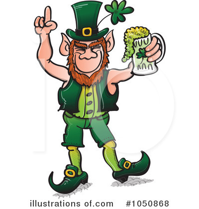 Leprechaun Clipart #1050868 by Zooco