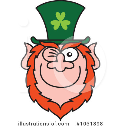 Leprechaun Clipart #1051898 by Zooco