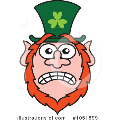 Leprechaun Clipart #1051899 by Zooco