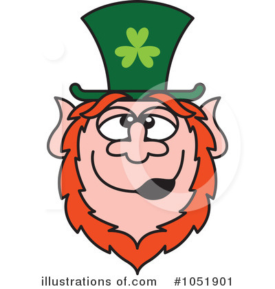 Leprechaun Clipart #1051901 by Zooco