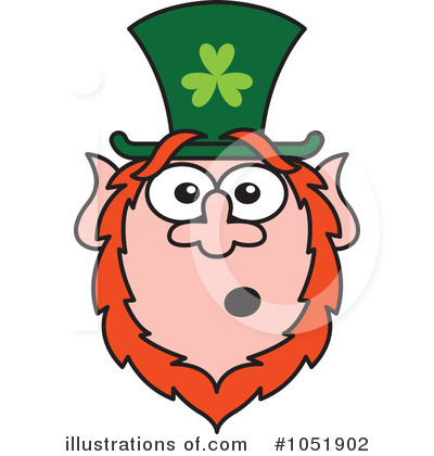 Leprechaun Clipart #1051902 by Zooco