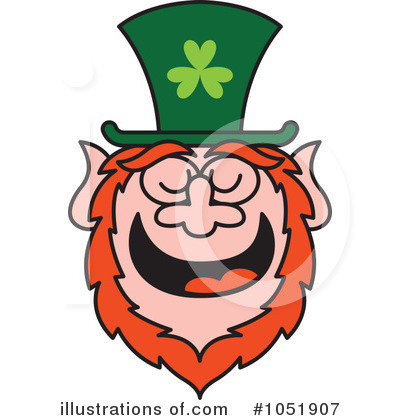 Leprechaun Clipart #1051907 by Zooco