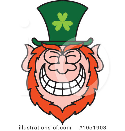 Leprechaun Clipart #1051908 by Zooco