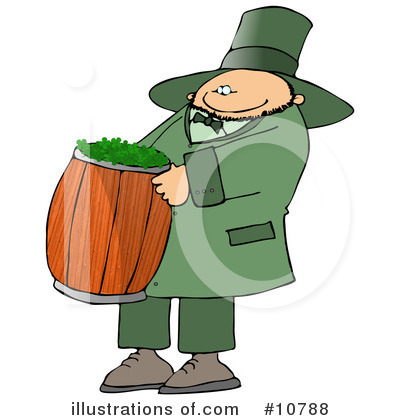 Leprechaun Clipart #10788 by djart