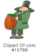 Royalty-Free (RF) Leprechaun Clipart Illustration #10788