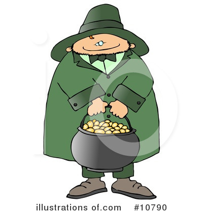 Leprechaun Clipart #10790 by djart