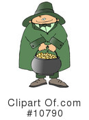 Royalty-Free (RF) Leprechaun Clipart Illustration #10790