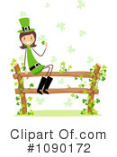 Royalty-Free (RF) Leprechaun Clipart Illustration #1090172