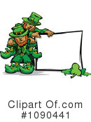 Royalty-Free (RF) Leprechaun Clipart Illustration #1090441