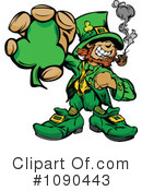 Royalty-Free (RF) Leprechaun Clipart Illustration #1090443