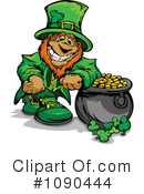 Leprechaun Clipart #1090444 by Chromaco