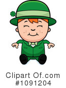 Leprechaun Clipart #1091204 by Cory Thoman