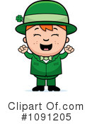 Leprechaun Clipart #1091205 by Cory Thoman