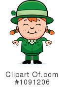 Leprechaun Clipart #1091206 by Cory Thoman
