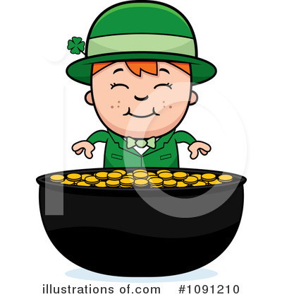 St Patricks Day Clipart #1091210 by Cory Thoman
