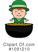 Royalty-Free (RF) Leprechaun Clipart Illustration #1091210