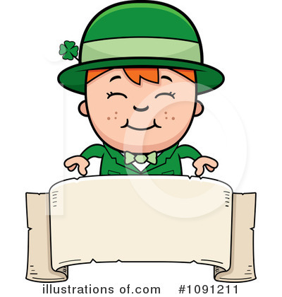 St Patricks Day Clipart #1091211 by Cory Thoman