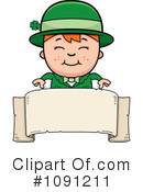 Royalty-Free (RF) Leprechaun Clipart Illustration #1091211