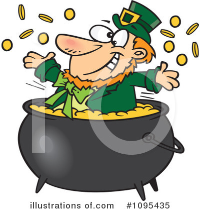 Leprechaun Clipart #1095435 by toonaday